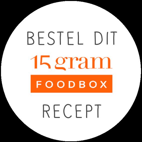 Bestel dit 15gram Foodbox recept